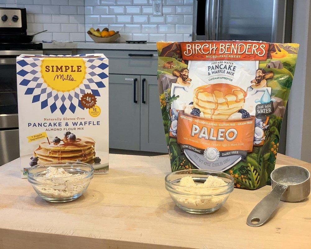 Simple Mills Pancake Mix vs Birch Benders Pancake Mix