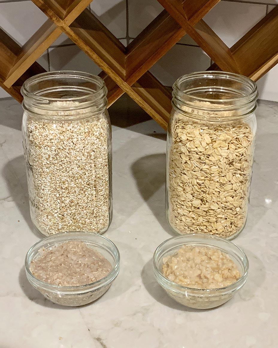 Cooked Buckwheat vs Cooked Oats