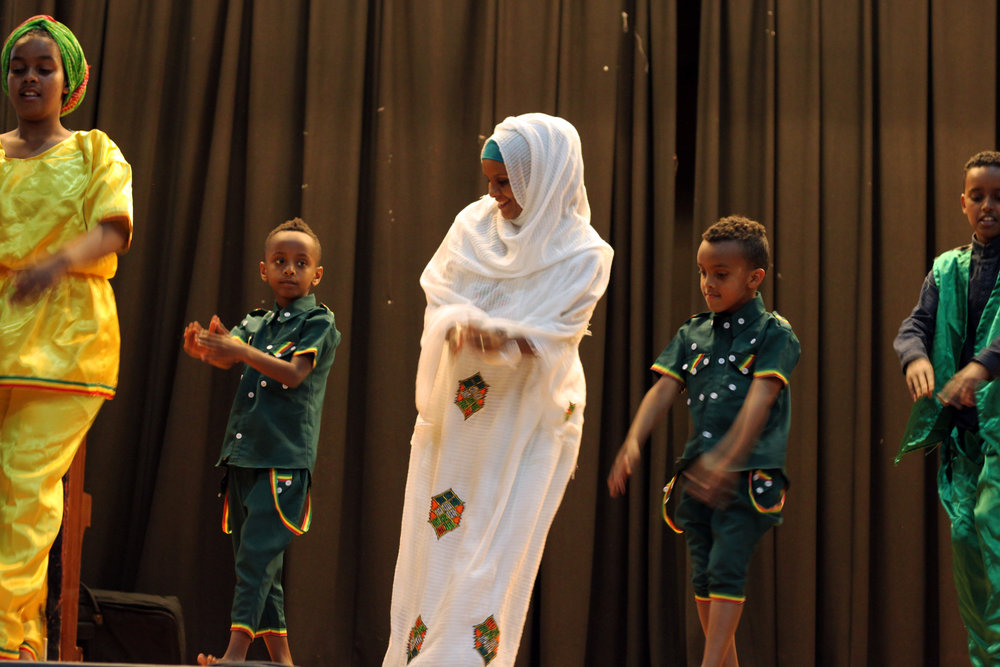 Traditional dance at ARFT event