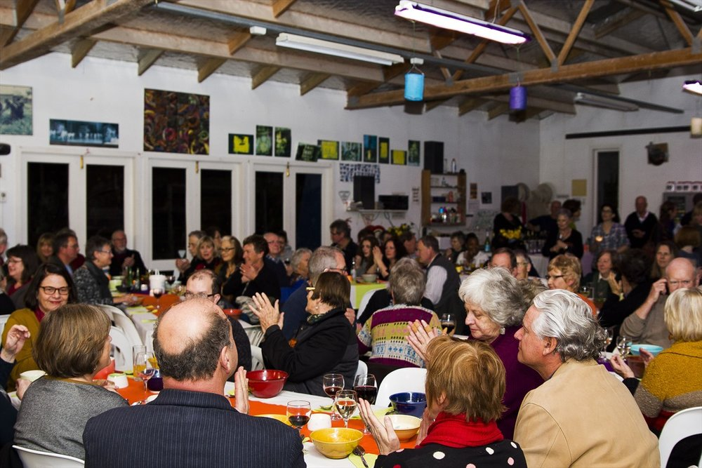 NZ Potters fundraising event