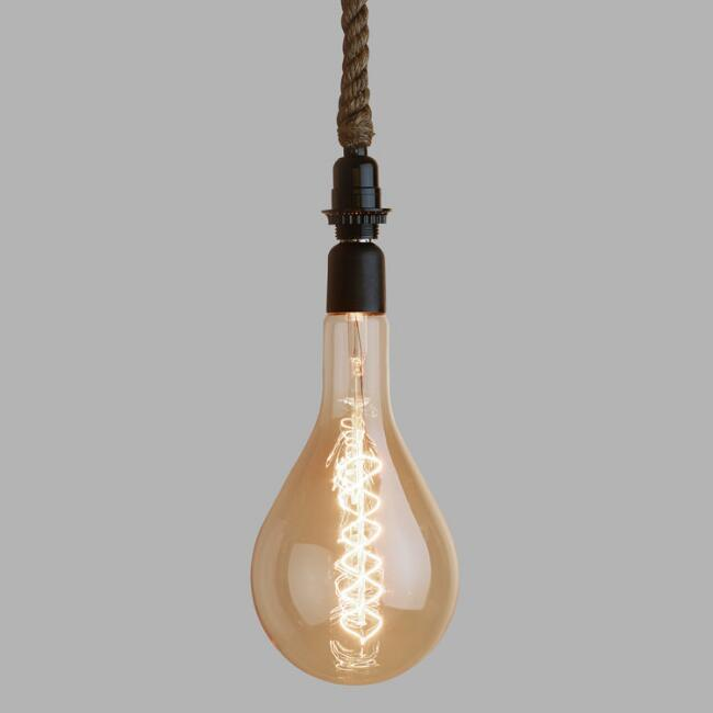 World Market //  Oversized Globe Filament Light Bulb