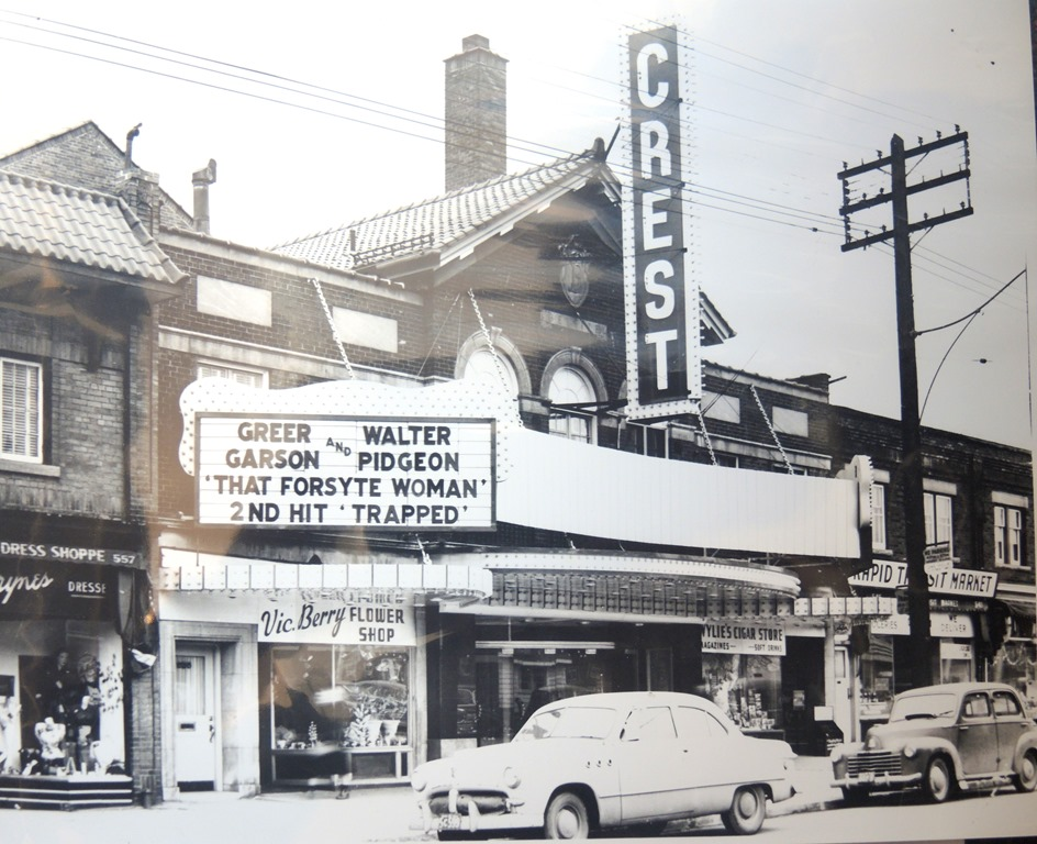 Photo: Early 1950's, City of Toronto Archives, Series 1278, file 27 (now The Regent Theatre)