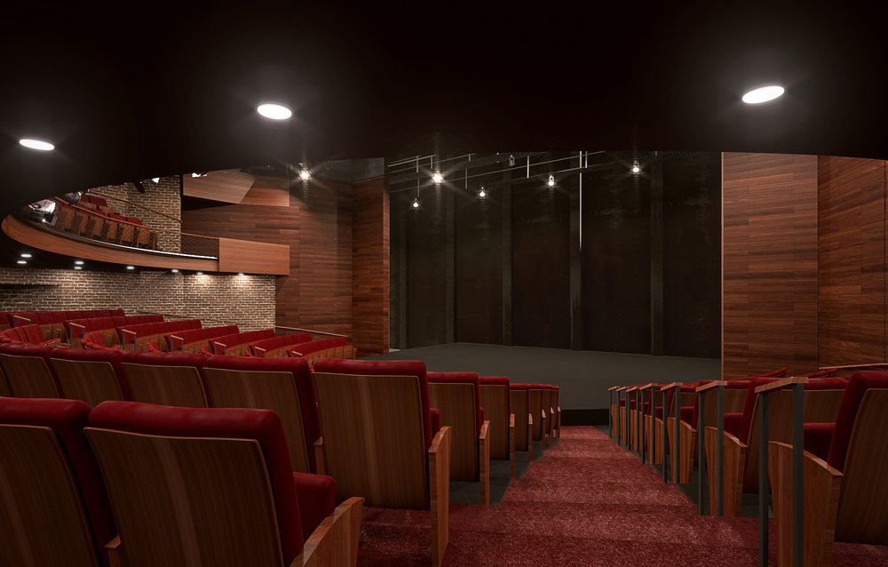 Renovated Performance Space