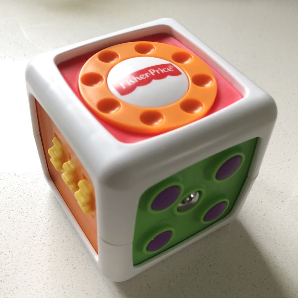 Fisher-Price My First Fidget Cube | Project Managing Mama