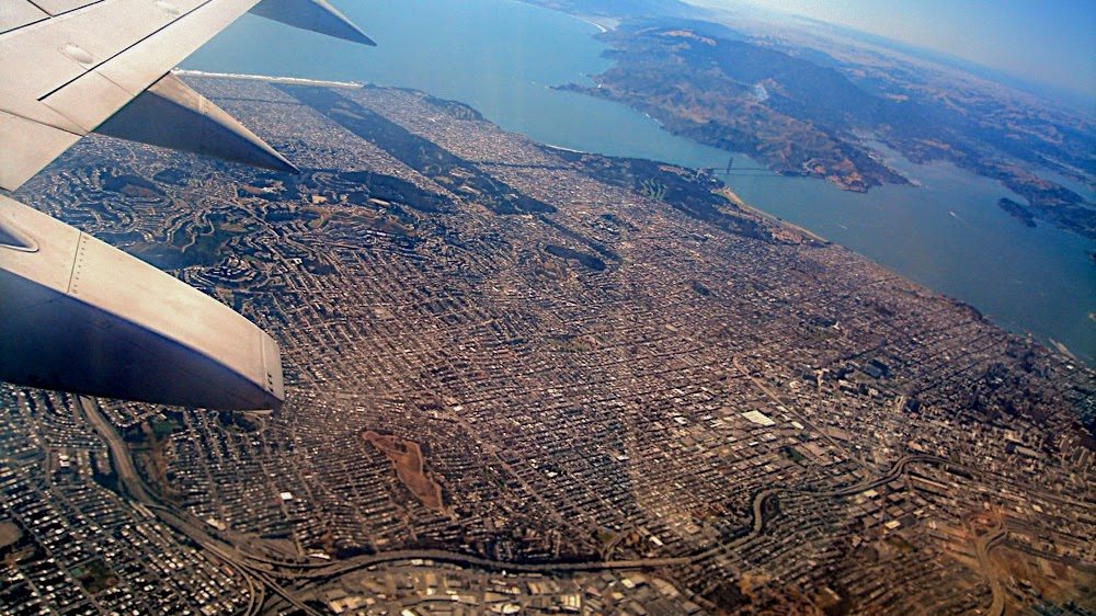 SF from the air