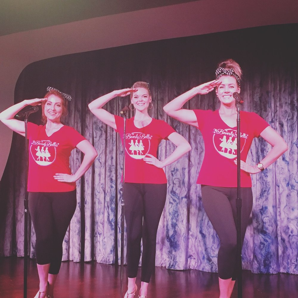 """Boogie Woogie with The Beverly Belles""   dance workshop"