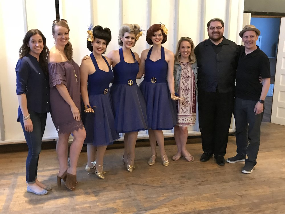 Danielle Scheib, Piper Arpan McTaggart, Amy Bolton, Julia Tobey, April Nelson, Shannan Steele, Brandon Bill, Heath Hyche, The Beverly Belles, Disney Cruise Line
