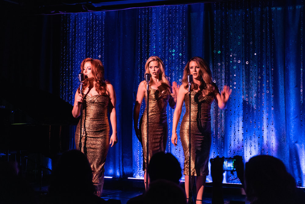 """""""ModernRetro"""" cabaret style show with The Beverly Belles"""