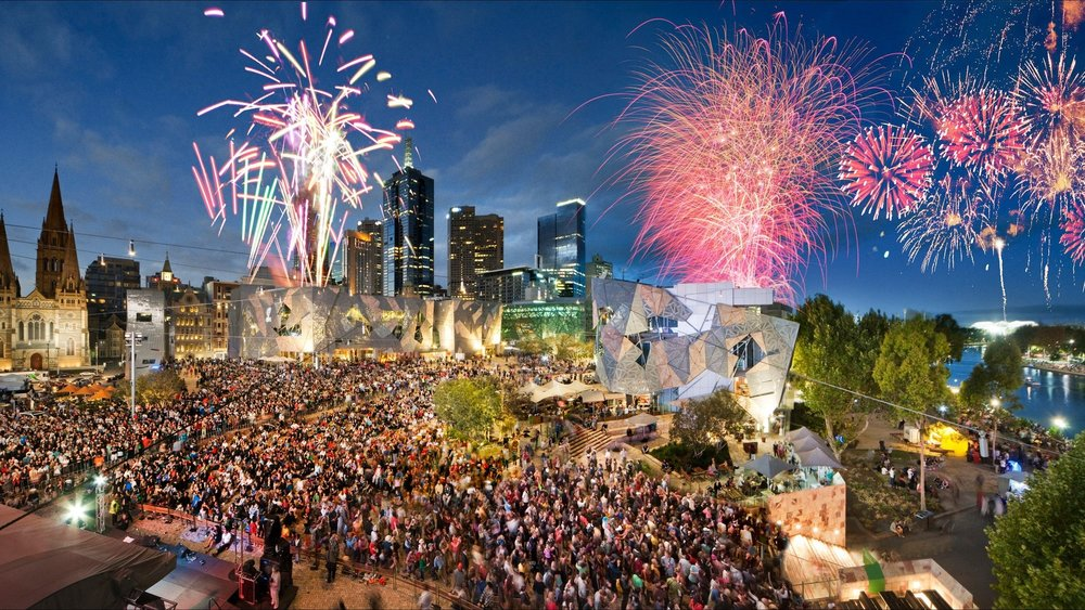 Federation Square - It is increasingly hard to imagine Melbourne without Federation Square. As a home to major cultural attractions, world-class events, tourism experiences and an exceptional array of restaurants, bars and specialty stores, this modern piazza has become the city's meeting place.