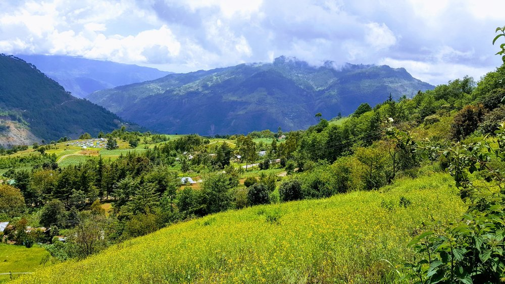 located in the valley of Huehuetenango