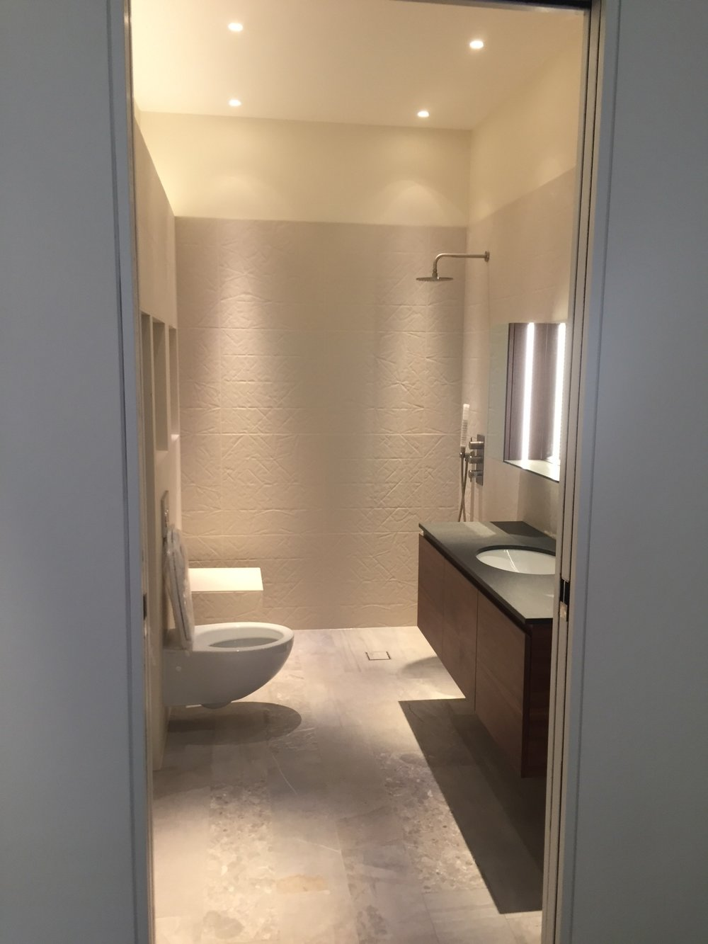 Demolition and new build | London | Bathroom construction