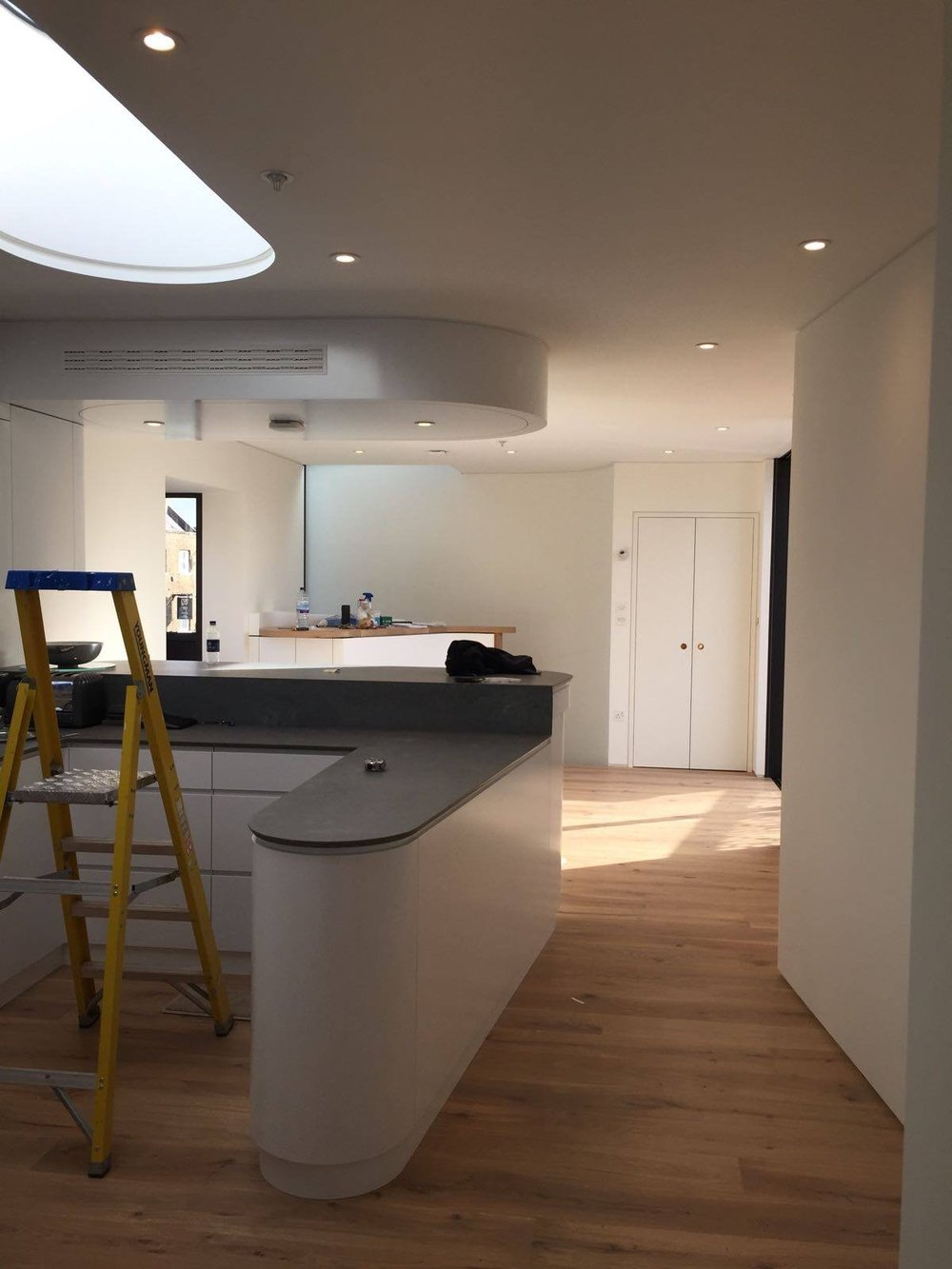 Demolition and new build | London | Kitchen construction