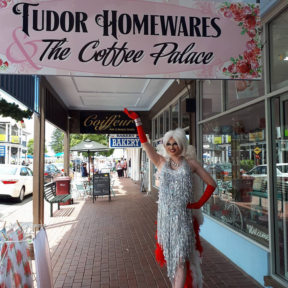 The Coffee Palace - Lunch, Coffee & Teas - located at the back of Tudor Homewares9 Ocean St(08) 8552 2744
