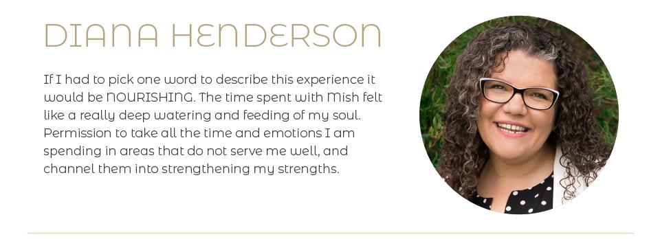 Diana Henderson testimonial