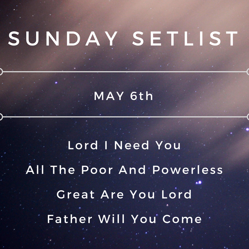 Sunday Setlist May 6, 2018.png