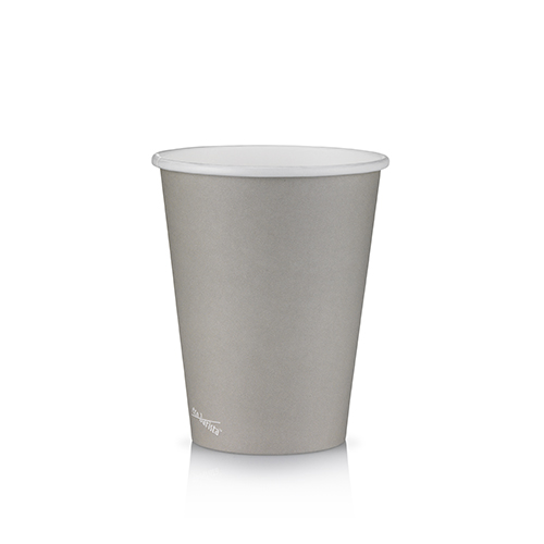 12oz Single Wall PLA Short Grey - This cup uses the same sized lid as all our cups in the Short series (8oz and 16oz).Our cups are lined with a renewable plant based material which can be recycled or composted.Packaging Specifications:1000 units per cartonSuitable LidBlack Lid Fits 8oz | 12oz | 16oz Short CupsWhite Lid Fits 8oz | 12oz | 16oz Short CupsCompostable Lid Fits 8oz | 12oz | 16oz Short CupsSkinny Range Or Short Range? Click here to see which is right for you.