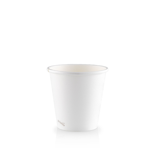 6oz Single Wall PLA Skinny White - This cup uses the same sized lid as all our cups in the Skinny series (8oz and 12oz).Paper Cup Project cups are lined with a renewable plant based material which can be recycled or composted.Packaging Specifications:1000 units per cartonSuitable LidBlack Lid Fits 6oz | 8oz | 12oz Skinny CupsWhite Lid Fits 6oz | 8oz | 12oz Skinny CupsCompostable Lid Fits 6oz | 8oz | 12oz Skinny CupsSkinny Range Or Short Range? Click here to see which is right for you.