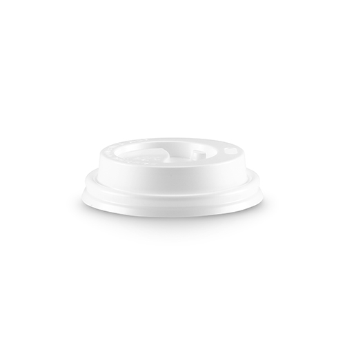 White 4oz Lid - Quick description:This white coffee cup lid fits our 4oz espresso cupsPackaging Specifications:1000 units per carton