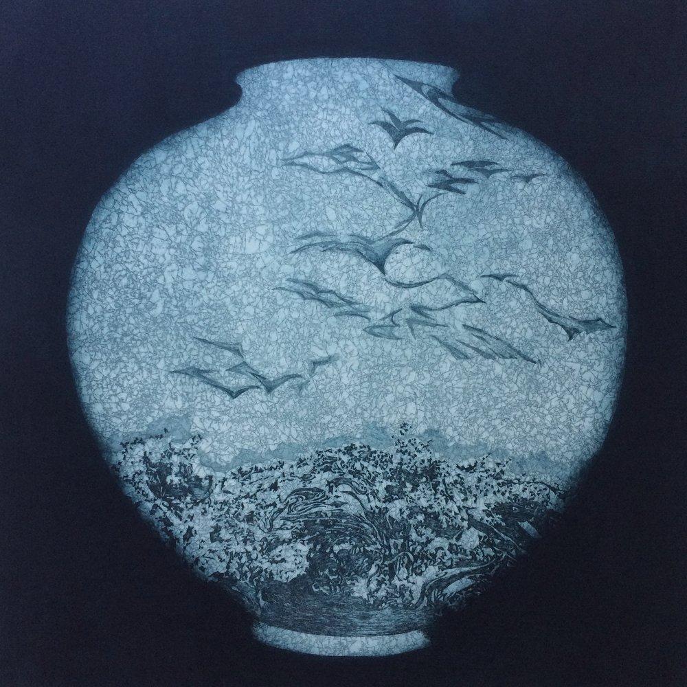 Moon Jar  No.1