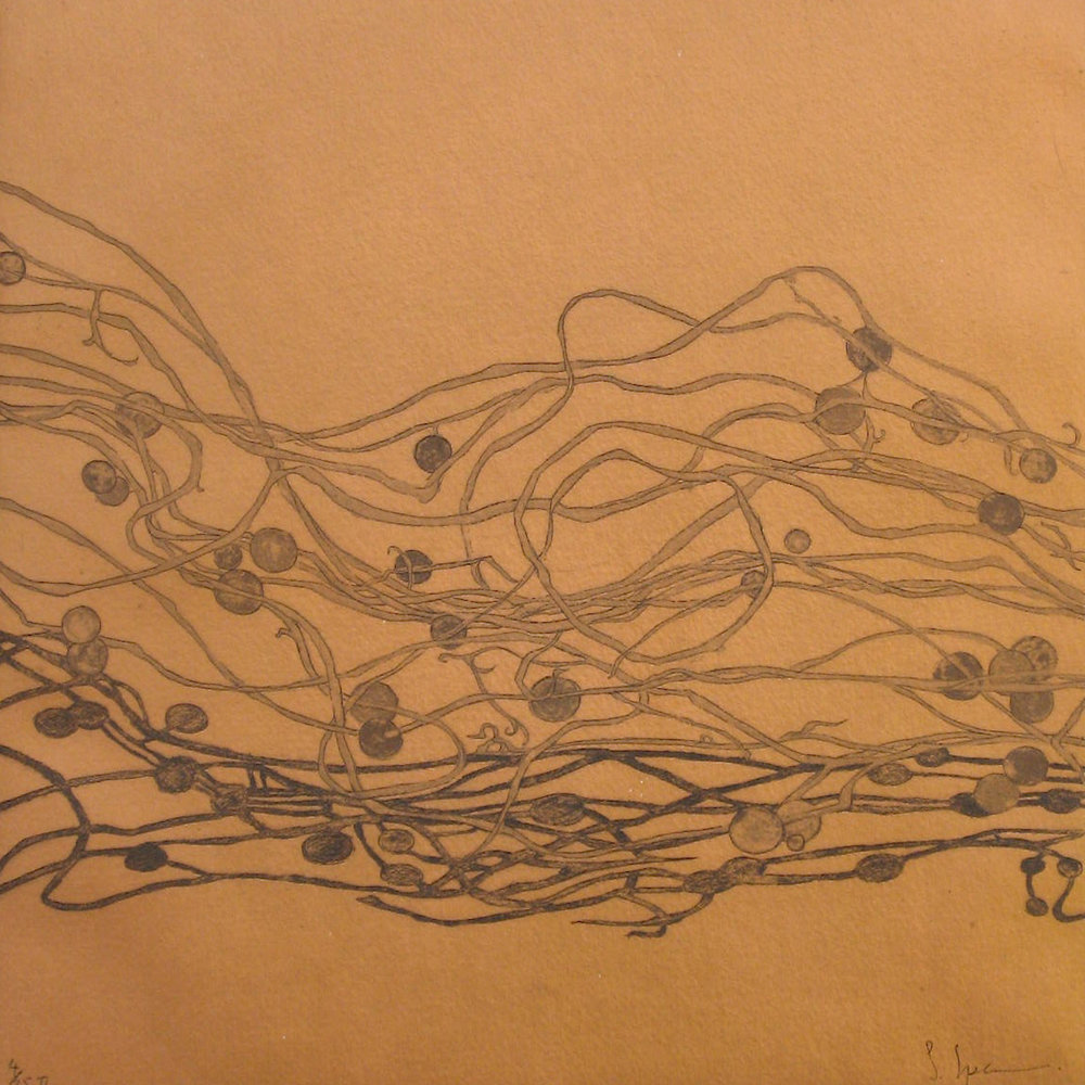 Winter , etching