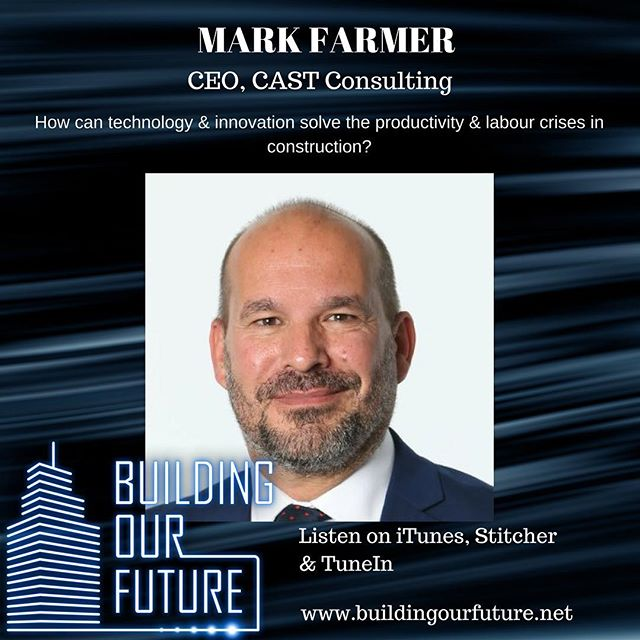 "Mark Farmer, author of the UK government's White Paper ""Modernise or Die"", explains the challenges facing the construction industry and how technology and innovation offer a potential solution #offsite #constructiontechnology #modularhome #modularbuilding #crosslaminatedtimber #automation #buildtech #construction #constructionuk #offsiteconstruction #contech"
