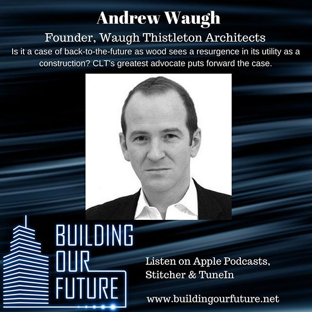 @andrewwaughthistleton joins me to make the case for building with cross-laminated timber. We discuss the wide ranging benefits; from speed of delivery, sustainability factors, aesthetics, optimal densities, through to improved cognitive function!