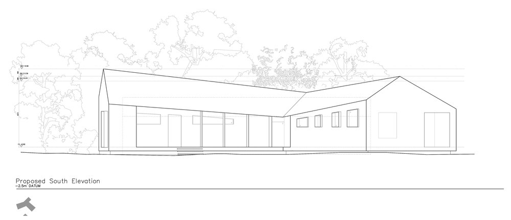 Proposed South Elevation