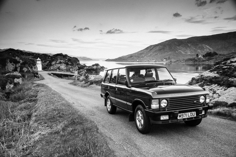 My 1995 Range Rover Classic, Scotland