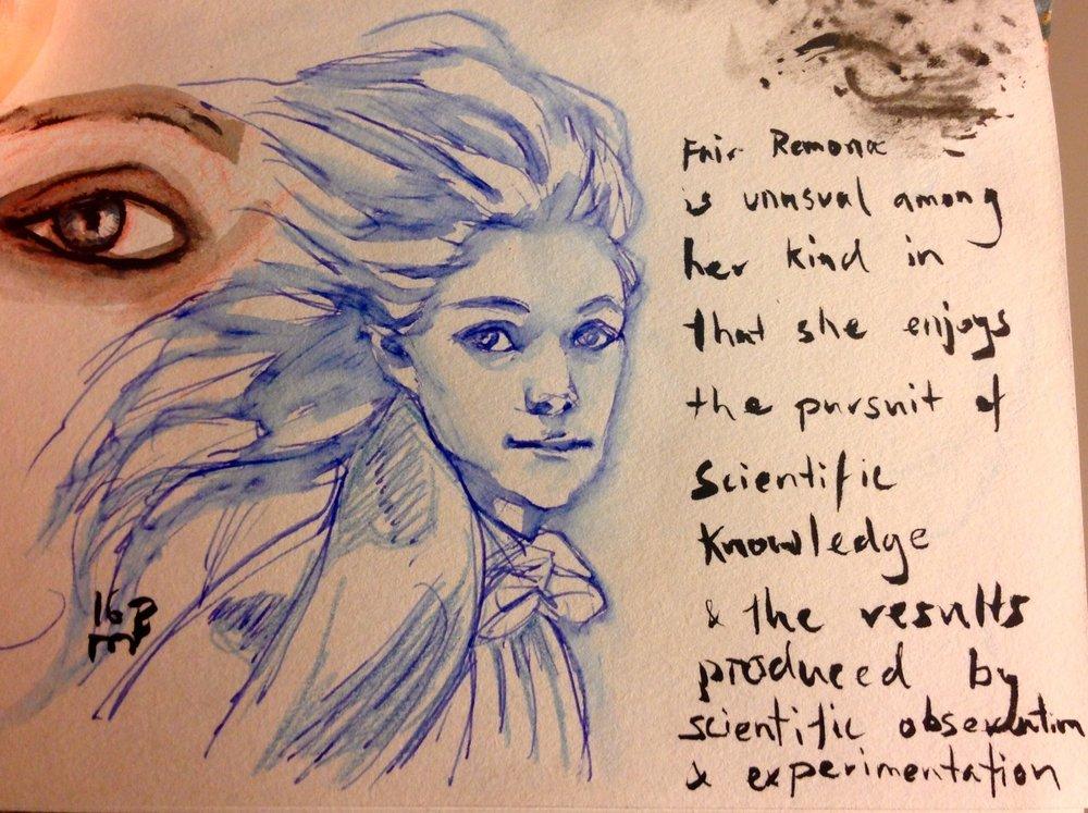 Sketchy fairy character ideas 😁