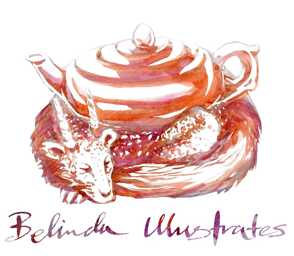 New logo design for Belinda Illustrates ☺️