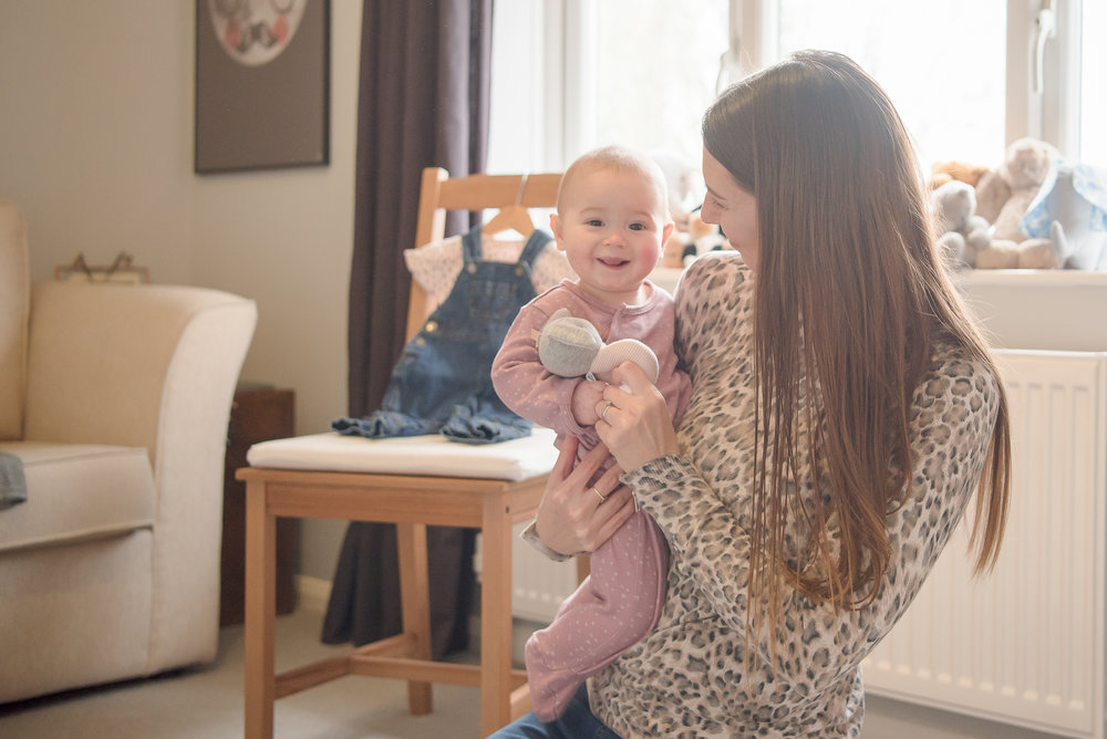 relaxed baby photos Wokingham