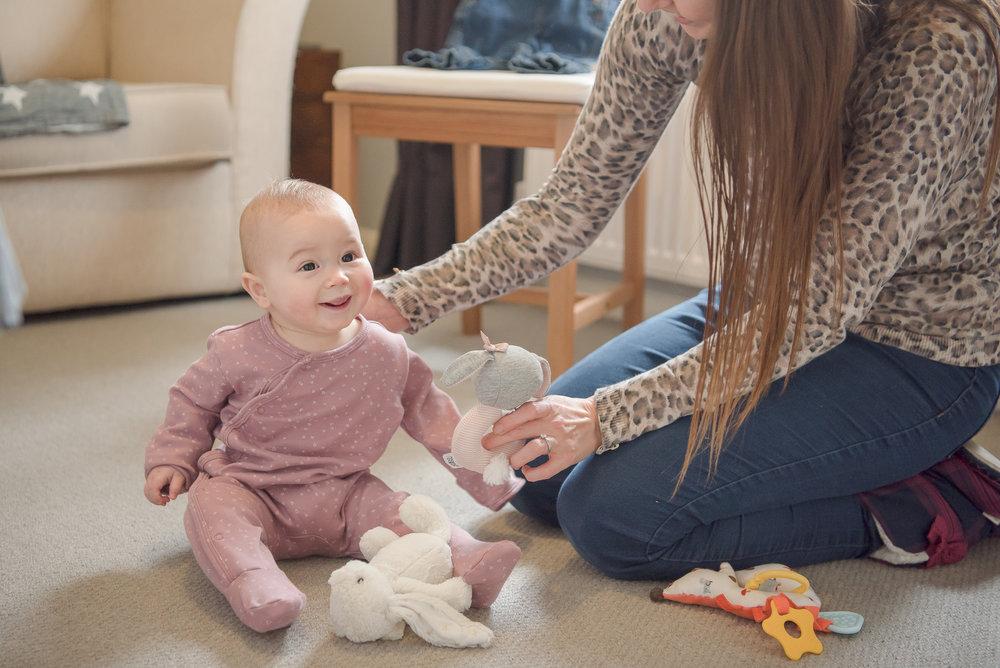 Baby photographer Lower Earley