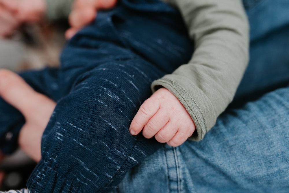 Baby hand Berkshire