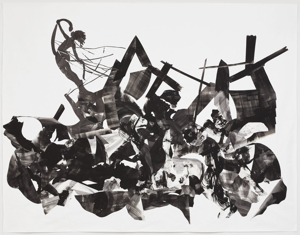 Kara Walker - Rift of the Medusa, 2017