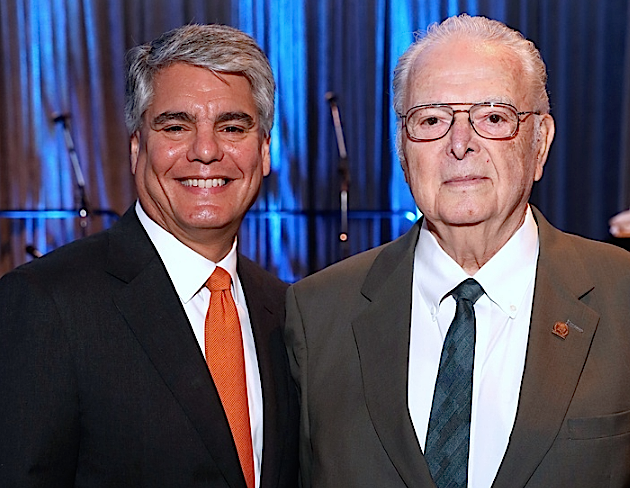 CultureMap: UT-Austin president honors his father at moving Guardian of the Human Spirit Award luncheon