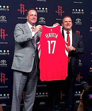 CultureMap: Tilman talks: New Rockets owner discusses national anthem, Toyota Center food, and why he loves the NBA