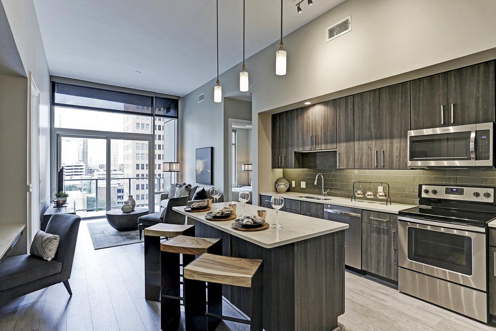 Catalyst Houston features 359 apartments.
