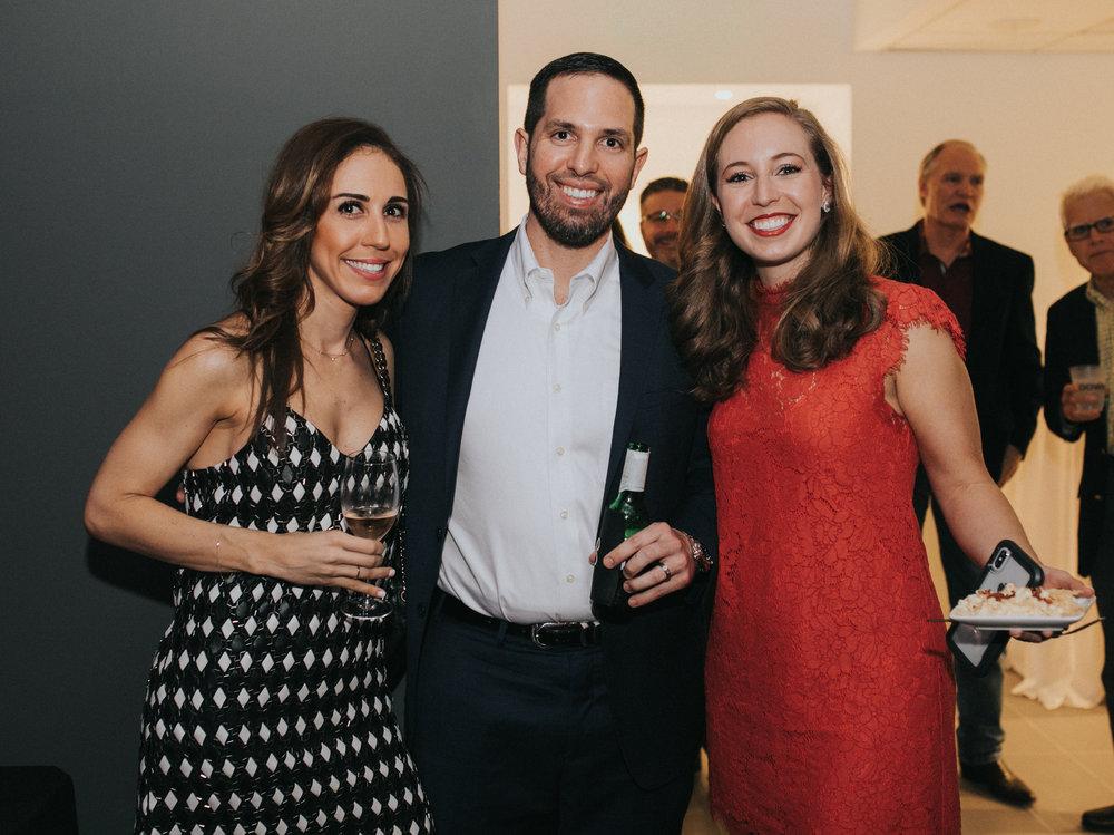 Kristina Cottrell, Frank Cottrell, Jessica Feist.