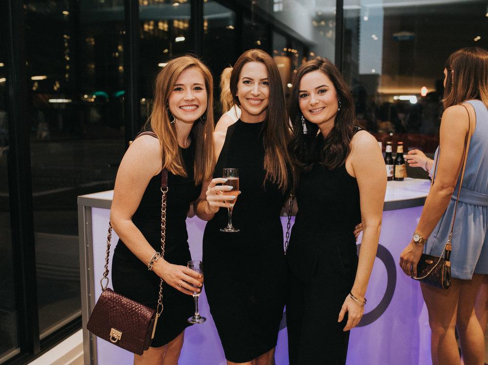 Julie Foster, Lauren Cunningham, Hilary Wellinghoff.
