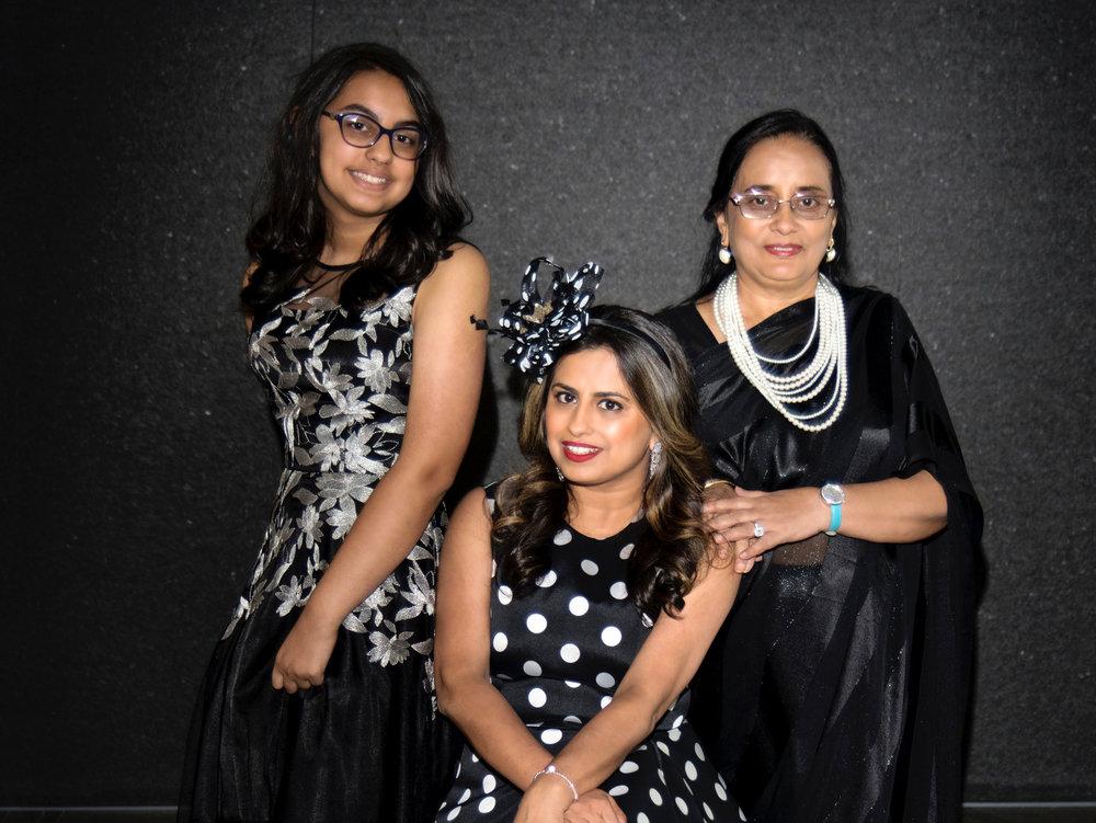 Aryika Mukherjee, Ruchi Mukherjee, Kaberi Mukerjee.