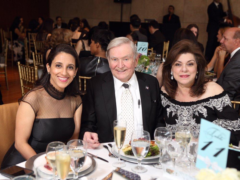 Rania Mankarious, Dave Ward, Laura Ward.