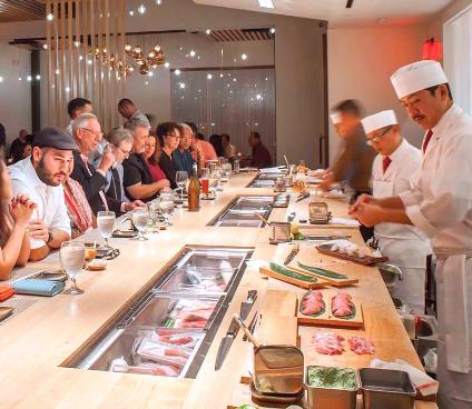 PaperCity: Houston's Best Sushi Restaurants: 11 Spots That Turn Raw Fish Into Art