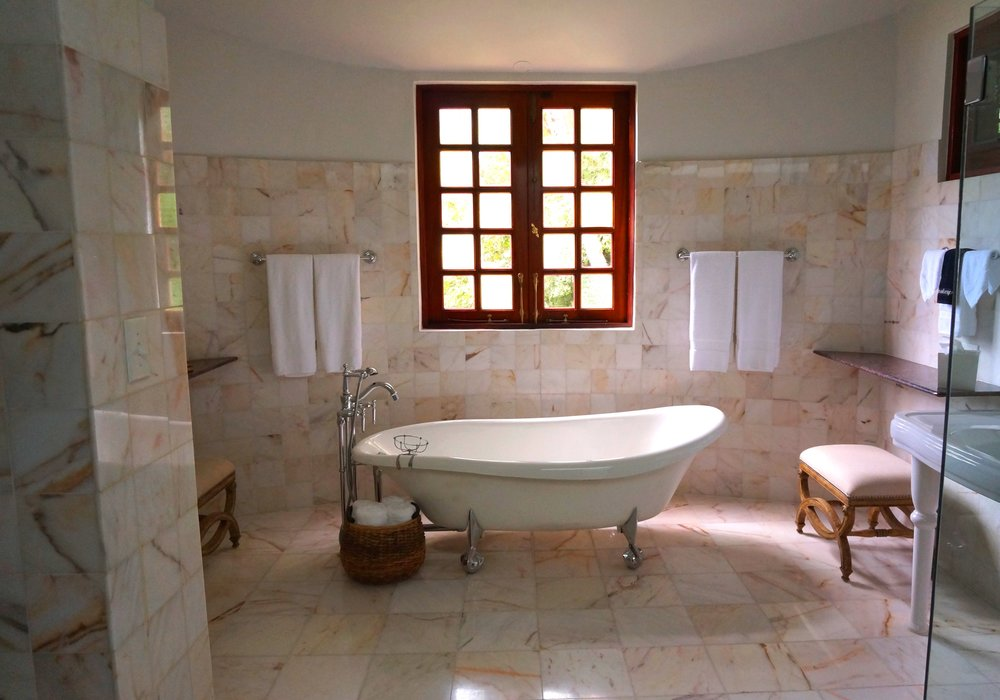 Natural Stone Floor - Like ceramic tile, stone can be often be cleaned using a Hot Water Extraction method. The products used to treat stone do differ and utilize a less intense method of agitation and rinsing. Certain stone may also be honed or polished to your desired level of shine. Other types of stone may be cleaned and have a topical finish applied to give it an enhanced color or shine. We will inform you what the proper treatments are for your floor after inspection. Call, text, or e-mail us for more information.