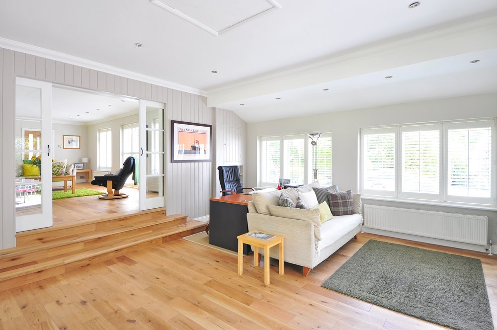 Hardwood Floor Cleaning - Hardwood floors are cleaned using a water extraction process. Every hardwood floor can benefit from a thorough flush with fresh water to remove build up and residue from traditional mopping. Prior to cleaning we determine whether or not your floor needs additional pretreatment or a restorative scrubbing. After cleaning a finished hardwood floor we can also protect the floor with a preservation finish, or we can give a light polish using a traditional floor machine. Call, text, or e-mail us for more information.