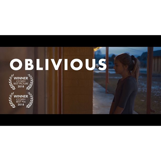 (link in bio) *OBLIVIOUS {Best Picture/Best PSA}* | i want to say thank you to @john_deyoung1 for giving me this opportunity to shoot and edit this film, it showed me a lot about filmmaking and how it can truly make a difference, thanks for trying to make a change in the world in everything you do (also have fun at your wedding haha) and also to @jallenfilm for answering my calls and listening to me complain about how stuff doesn't work and what not, thanks for teaching me how to be a better storyteller and a better person, thanks for everything man -mikey