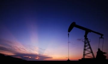 Oil Donkey at Sunset