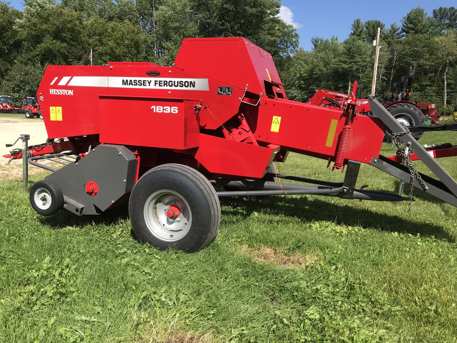 Massey Ferguson USED 1836 Small Square Baler $16,000 — New Boston Tractor