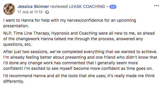 Review of Leask Coaching services