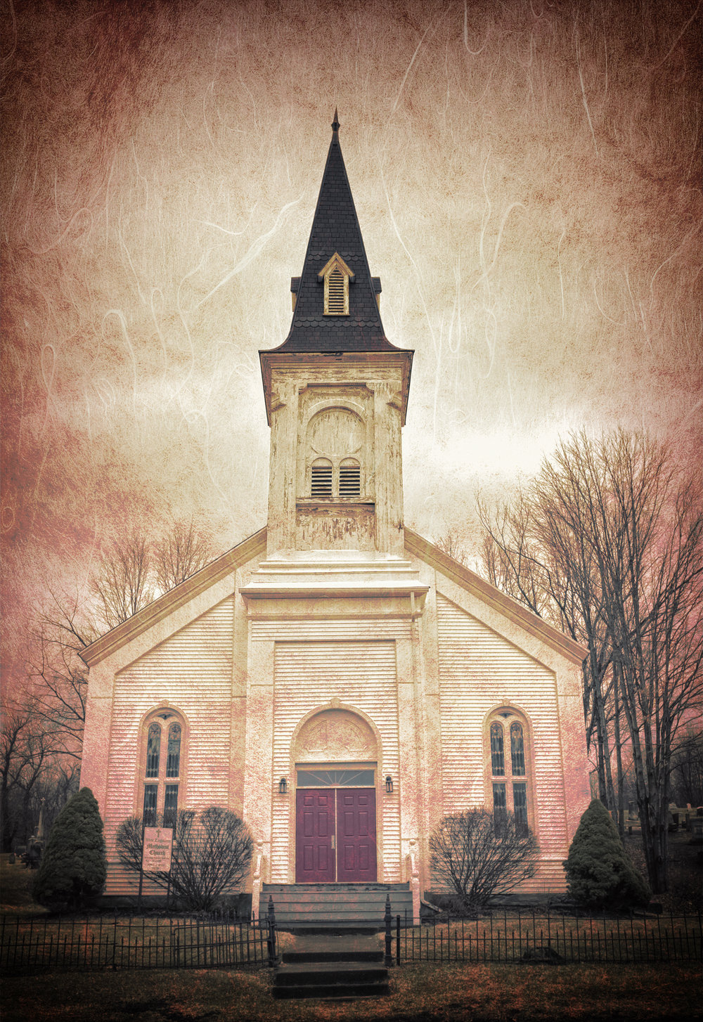Take Me to Church - Fuji X100T, 1/125 @f/8, +1EV, ISO 400, 23mm - Processed with Topaz Texture Effects