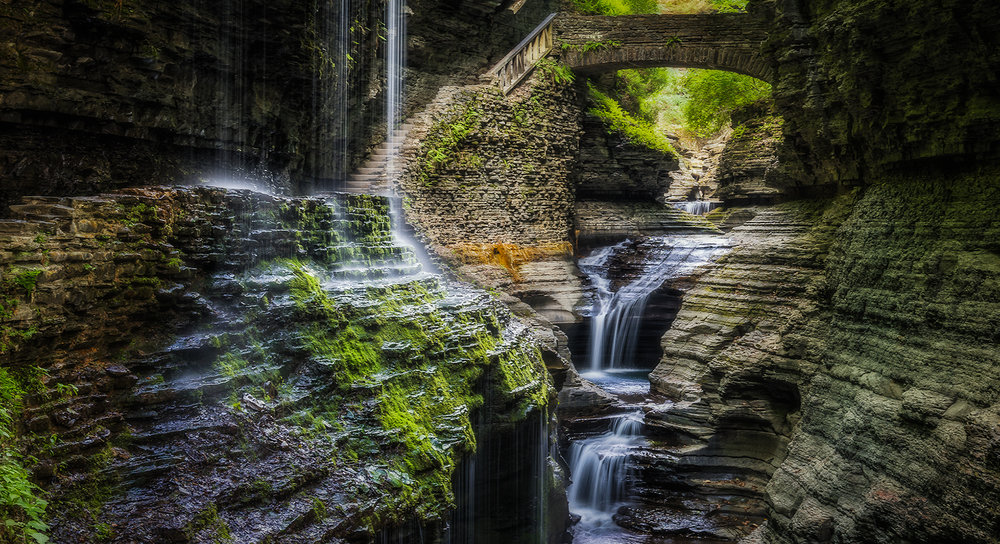 To the Waters and the Wild - Nikon D750, 2sec. @f/10, ISO100, 46mm - Watkins Glen, NY
